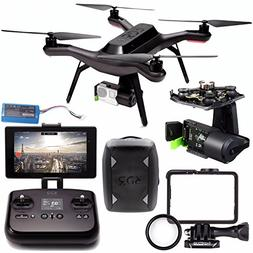 3DR Solo Quadcopter + 3DR Solo Gimbal for GoPro HERO3+ and H