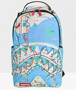 Sprayground Metroshark Designer Fashion School Laptop Skate