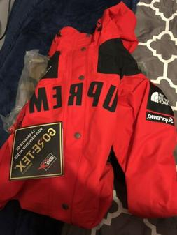 SS19 Supreme x North Face TNF - Arc Logo Mountain Parka, Red