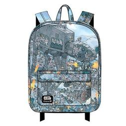 Loungefly Star Wars AT-AT Print Nylon Backpack with Laptop P