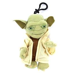 Star Wars Original Yoda 7 Plush Character Soft Zip Backpack