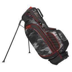 "OGIO Stinger 9.5"" WoodeLite 8 Way Top 6 Pockets Golf Stand B"
