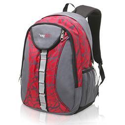 18 Inch MGgear Student Bookbag/Children Sports Backpack/Trav