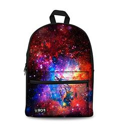 FOR U DESIGNS Stylish Galaxy Lightweight Durable Canvas Back