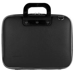 Cady 13 Inch Laptop Case , Faux Leather Travel Messenger Sho