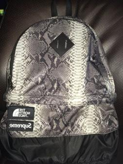 Supreme The North Face Snakeskin Lightweight Backpack Black