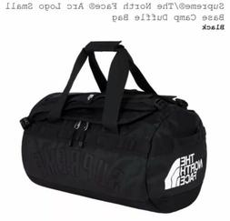 Supreme X The North Face Arc Logo Base Camp Duffle Bag - Bla