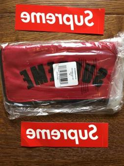 Supreme x The North Face Arc Logo Organizer Red
