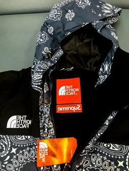 Supreme x The North Face Bandana Paisley Mountain Jacket Blu