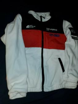 Supreme x The North Face White Expedition Fleece Jacket FW18