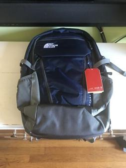 The North Face Surge Transit Backpack Navy Blue Grey Sample