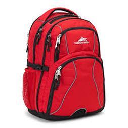 High Sierra Swerve Laptop Backpack, Crimson/Black