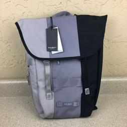 """Timbuk2 Swig Backpack Black Gray Flap Closure 15"""" Laptop N"""