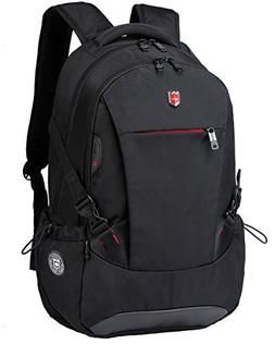 "Swiss Ruigor 6081 Water Resistant Backpack Fit For 15.6"" Lap"