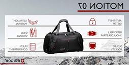 SWISS RUIGOR MOTION 07 Duffel bag  with water repellent mate