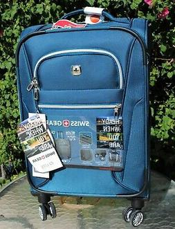 """SWISS GEAR 20"""" PILOT CASE LITE COLLECTION CARRY ON LUGGAGE ~"""