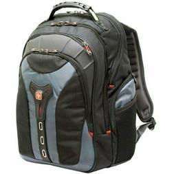 "SwissGear 17"" Durable Gray Notebook Backpack"