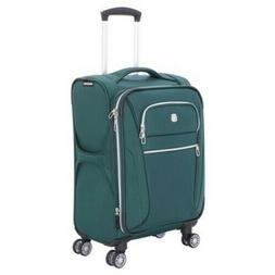 """SwissGear Checklite 20"""" Carry-on Luggage - June Bug Green 72"""