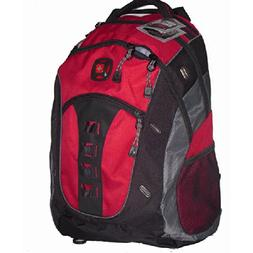 "SwissGear Granite 16"" Computer Laptop Backpack - Red"