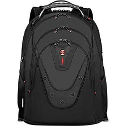 "SwissGear Ibex Backpack With 17"" Laptop Pocket, Black"