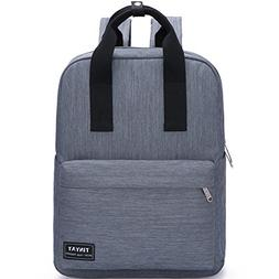 TINYAT T809 College Book Bag/Hiking Backpack, Grey