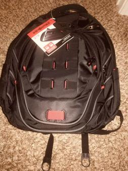 tectonic 17 perfect fit laptop backpack black
