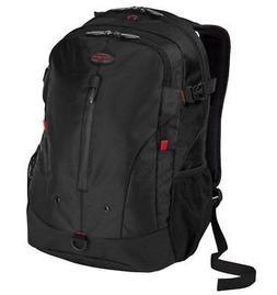 Targus Terra Backpack Designed for 16-Inch Laptops, Black/Re