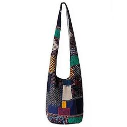 Tie Dye Hippie Bag Cross-Body Baja Sling Bag in Classic Baja