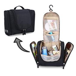 Travel Toiletry Bag Hanging Cosmetic Makeup Organizer with H