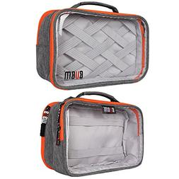 Toiletry Travel Bag,BUBM Water Resistant Transparent Travel