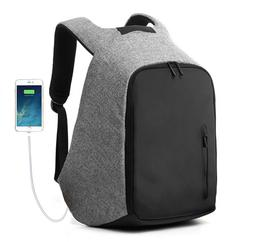 travel anti theft backpack external usb charge