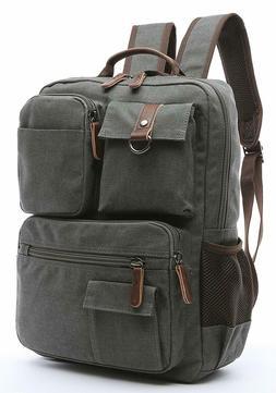 Travel Canvas Rucksack Sport Laptop Tactical Backpack School