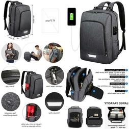 Travel Laptop Backpack 17Inch Security Business Backpack Loc