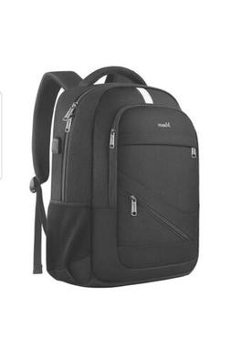 Mancro Travel Laptop Backpack, Anti Theft Backpack with USB