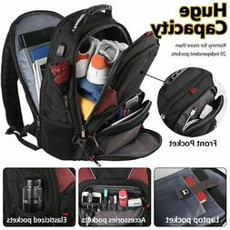 Travel Laptop Backpack, Extra Large,USB Charging Port- Fit 1