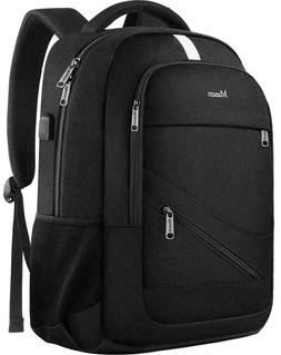 Mancro Travel Laptop Backpack w/ RFID Security Blocking USB