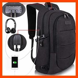 travel laptop backpack water resistant anti theft