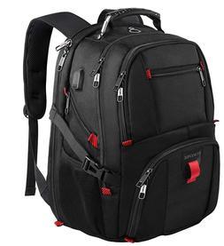 """YOREPEK Travel Laptop XL Backpack/TSA Friendly/17"""" Laptop/Wa"""