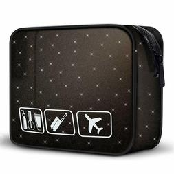 Travel Toiletry Organizer Bag Carry On Clear Airport Airline