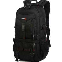 Mens Multifunctional 17'' Laptop Backpack Travel Camping Gym