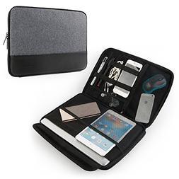 CrossGear TSA Laptop Sleeve for 13 - 13.3 Inch MacBook Air |