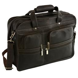Hammer Anvil Turbo Colombian Leather Briefcase Top-Zip Lapto