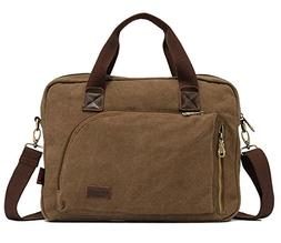 UK Style Mens Business Messenger Bags Briefcase Shoulder Tot