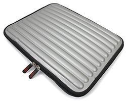 elegant silver shock absorbent cushioned