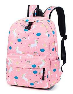 Leaper Unicorn Backpack for Girls Laptop Backpack School Bag