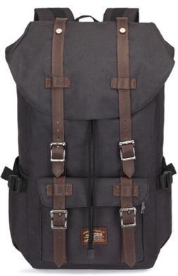 KAUKKO Unisex Casual Backpack Computer Laptop School Bag Tra