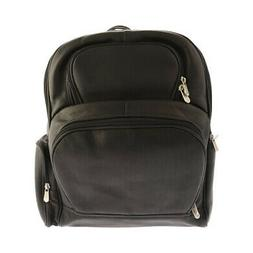 Piel Leather Unisex  Half-Moon Laptop Backpack 2992