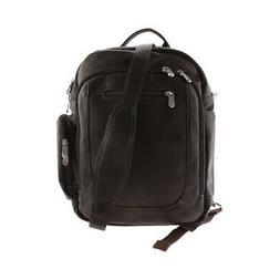 Piel Leather Unisex  Laptop Backpack/Shoulder Bag 3056