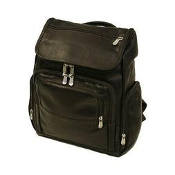 Piel Leather Unisex  Multi-Pocket Laptop Backpack 2834