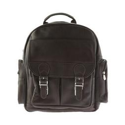 Piel Leather Unisex  Ultimate Travelers Laptop Backpack 3049